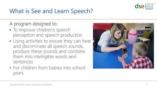 Introducing See and Learn Speech