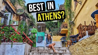 WHERE To Stay In ATHENS GREECE - Our Athens AirBnb And A Tour Of PLAKA