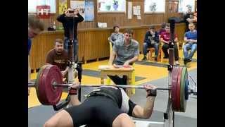 В зале тяжёлой атлетики СДЮСШОР № 1 состоялся чемпионат Новгородской области по жиму лёжа