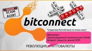 BitConnect. Прогнозируемый показательный СКАМ.  Возврат средств.  Долой HYIP!