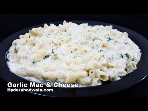 Garlic Mac & Cheese Recipe Video – How to Make Macaroni and Cheese with Garlic – Easy, Simple