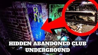 FOUND A SECRET GENTLEMAN'S BAR UNDER MANCHESTER TRAIN STATION (UNDERGROUND CITY)