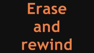 *Ashley Tisdale* - Erase & Rewind [Best Quality] Full Song + Lyrics On Screen
