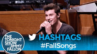 Hashtags: #FallSongs with Shawn Mendes - dooclip.me