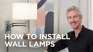 Video About Installing plug In Swing Arm Wall Lamps