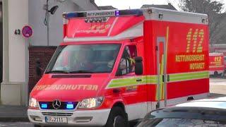 preview picture of video '[Hornwechsel] Reserve-RTW der Berufsfeuerwehr Krefeld'
