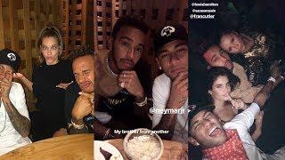 Lewis Hamilton | Snapchat Story | 18 September 2017 W/ Neymar , Sara Sampaio & Barbara Palvin