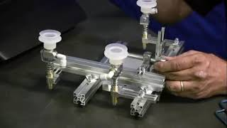 End of Arm Tooling (EOAT) assembly demonstration