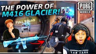 GOD of SNIPER Athena Gaming M416 Glacier FRAGGER BEST Moments in PUBG Mobile
