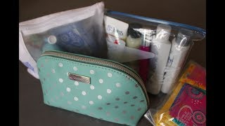 Traveling With Only a Carry On: Toiletry Necessities || Alina Trofimov