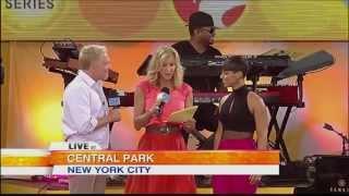 Alicia Keys ,HD, Fire We Make , live  Interview on Good Morning America ,full,HD 1080p
