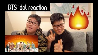 Non-talented kpop fans reacts to BTS (방탄소년단) 'IDOL' Official MV