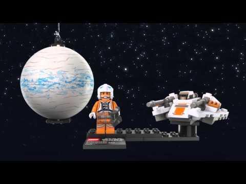 Vidéo LEGO Star Wars 75009 : Snowspeeder & Hoth