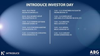Introduce Investor Day Sal 1