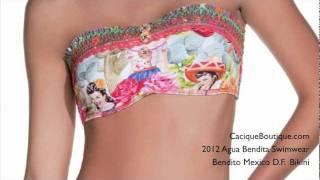 Bendito Mexico DF Bikini - 2012 Agua Bendita Swimwear - CaciqueBoutique.com