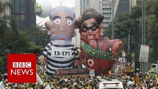 Why Brazil's President Rousseff faces impeachment calls - BBC News