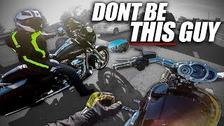 How NOT to Ride a Harley