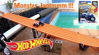 Hot Wheels Corrida Monster Jam Ice Monster - Carrinhos De Brinquedos 2018 #62
