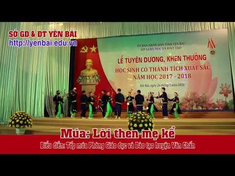 Múa Lời then mẹ kể. Biểu diễn: Phòng GD&ĐT huyện Văn Chấn