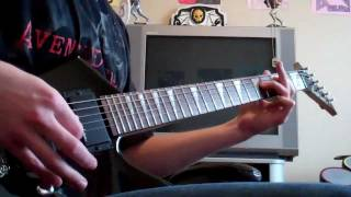 Thick and Thin by Avenged Sevenfold guitar cover