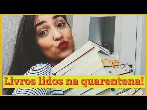 Livros lidos na quarentena | Tipo Tumblr ?