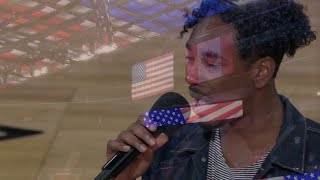 Detroit Pistons National Anthem Performance - Apropos (Official NBA Video)