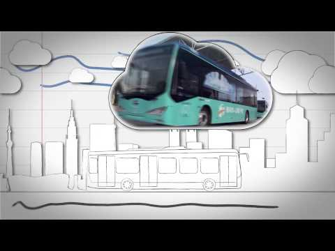 BYD ebus technology