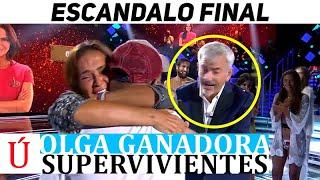 El feo de Carlos Sobera a David Flores y Olga Moreno en la final de Supervivientes 2021