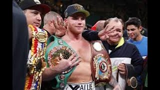 CANELO VACATES MIDDLEWEIGHT TITLE - SO WHOS NEXT?