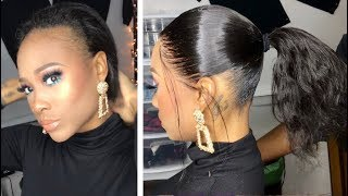The BEST FRONTAL PONYTAIL Tutorial!