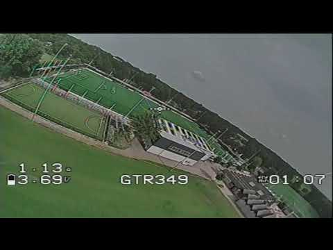 test flight with the Foxeer micro Predator 4 (uneditted DVR)