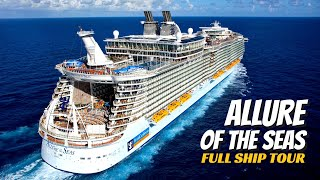 Royal Caribbean Allure of the Seas   Full Ship Tour & Review   4K   All Public Spaces Explained