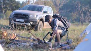 ចៅមាណពជិះឡានបោះតង់ Experience Ford Ranger Raptor Car camping trip