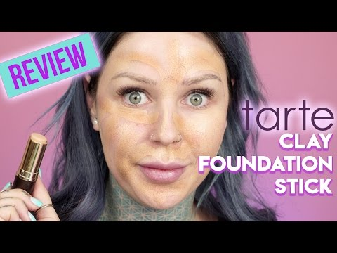 Tarte Amazonian Clay Stick Foundation Review & Application | KristenLeanneStyle