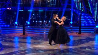 Kimberley Walsh & Pasha Kovalev - Foxtrot - Week 2 - Strictly Come Dancing 2012