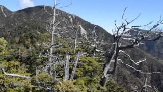 鶏冠山(山梨百名山)の山頂だろうか? 2015/10/18登頂