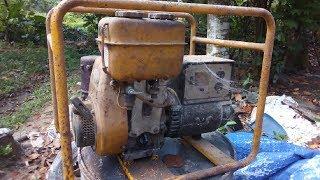 Robin EY18 Generator Restoration | Generator Restoration all parts