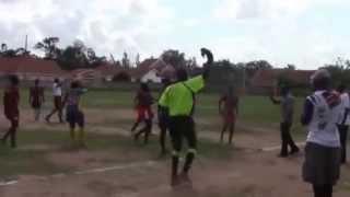 preview picture of video 'Game 2: Gulu High School vs Mbale Eagles -  URU 2014 U19 girls 7s Entebbe'
