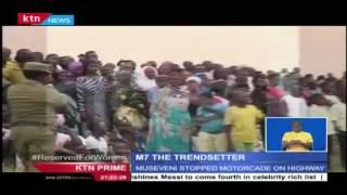 President Yoweri Museveni social media challenge