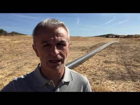 Segunda fase de las obras de sustitución de la red de agua de Majavea