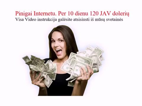 Ar realu užsidirbti pinigų nukreipimo puslapiuose internete