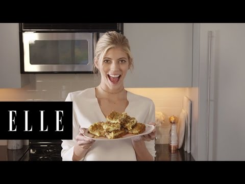 Chocolate Chip Cookie Cheesecake Bars with Devon Windsor | ELLE
