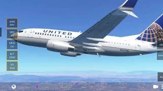 Mc Clellan Palomar-San Francisco united 737-700 #aerei #atterraggiorribili