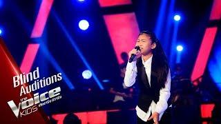 ผักบุ้ง - วิญญาณ - Blind Auditions - The Voice Kids Thailand - 15 Apr 2019