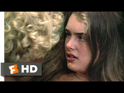 The Blue Lagoon (4/8) Movie CLIP - Sticky Kiss (1980) HD
