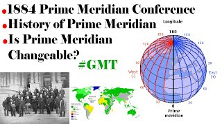 History of Prime Meridian   How Greenwich Meridian Time GMT came into effect?  Explained!