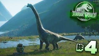 Sanctuary Island!!! - Jurassic World Evolution - Claire's Sanctuary | Ep4 HD