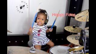 Pretty World Drum Cover By 21mos Old, Shia Wilson | Wilson World