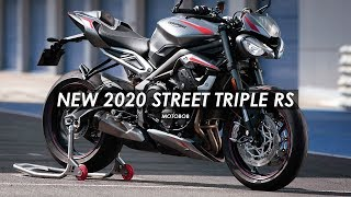 New 2020 Triumph Street Triple RS Specs & Images Released!