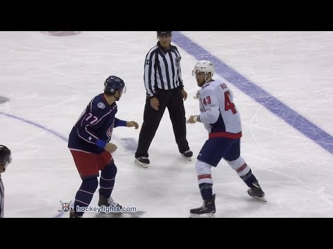 Tom Wilson vs Josh Anderson